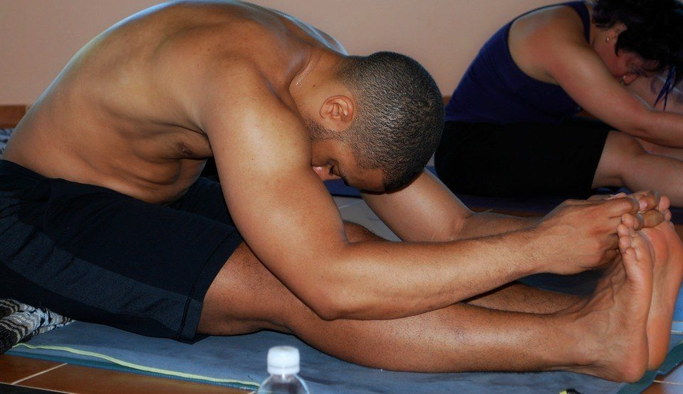 Yoga lower back pain seated forward fold