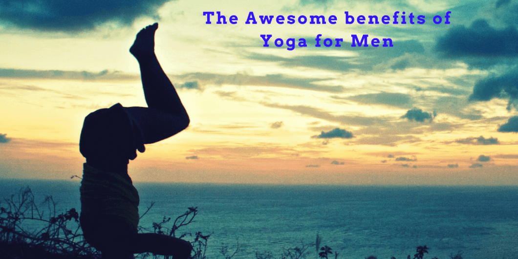 Man yoga headstand benefits of yoga for men